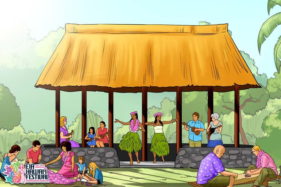 Hawaiian Culture & Traditions Eia Hawai'i Festival